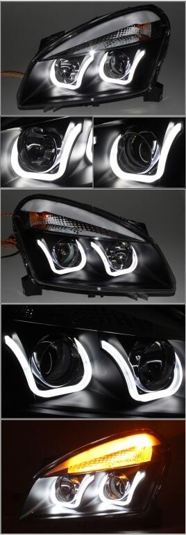 Тюнинговая оптика Nissan Qashqai 2008-2013