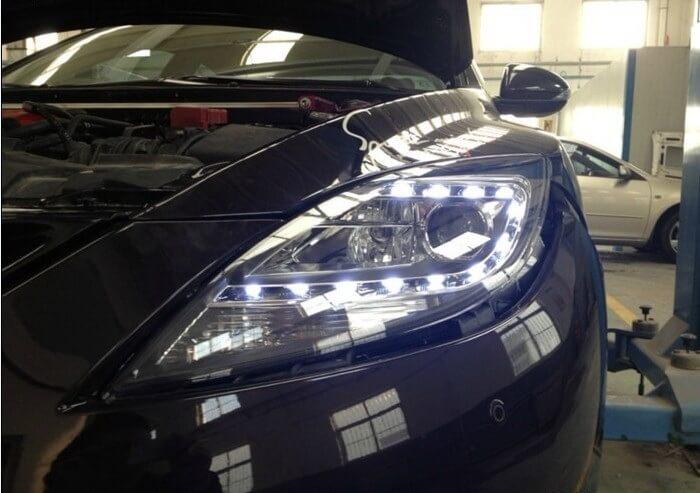 Тюнингованные фары Mazda 6 Speed 2009-2011