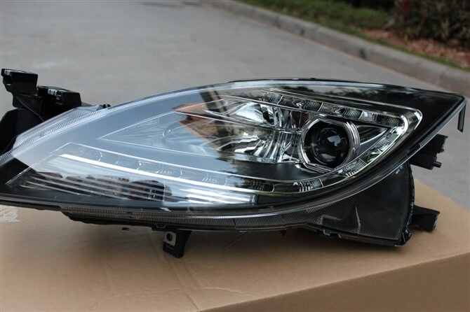 Тюнингованные фары Mazda 6 Speed 2009-2011, фото 4