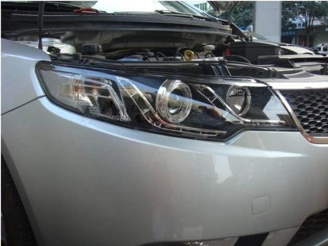 Тюнингованные фары Kia Cerato 2009-2012, фото 6