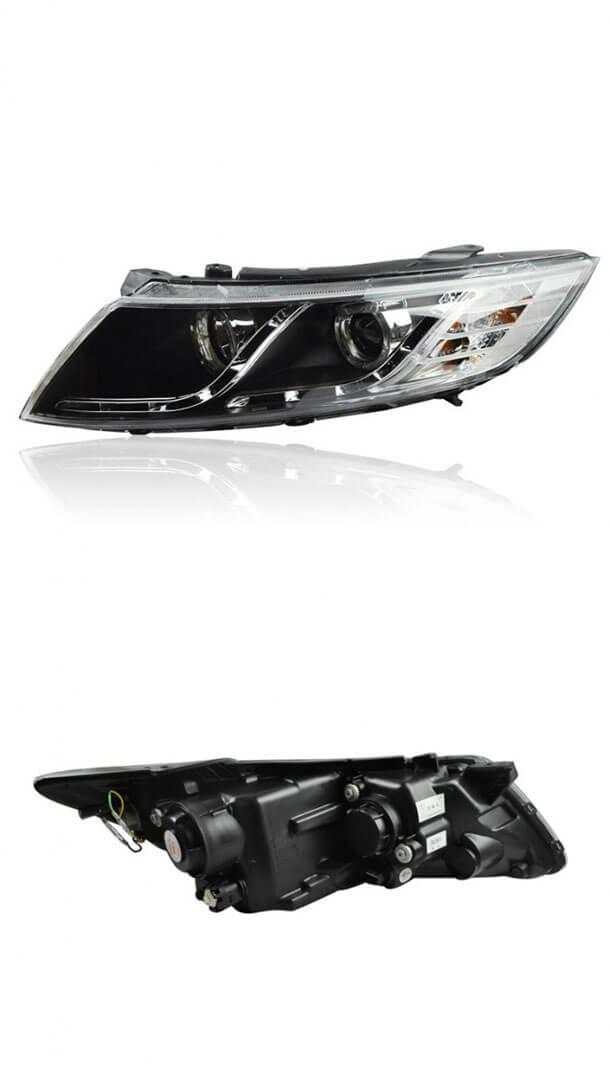 Тюнингованные фары Kia Optima 2011-2012, фото 2