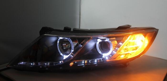 Тюнингованные фары Kia Optima 2011-2012, фото 3
