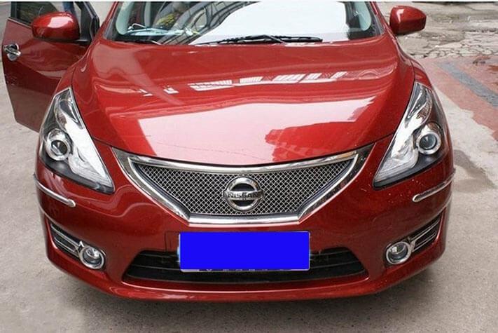 Тюнингованные фары Nissan Tiida 2011-2013, фото 4