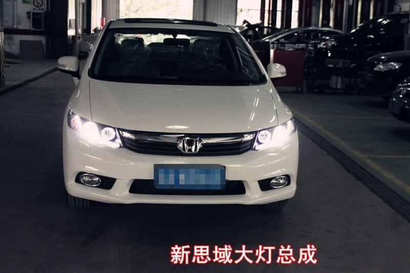 Тюнингованные фары Honda Civic 2012, фото 2