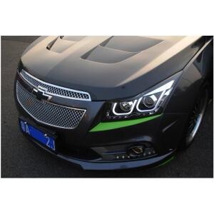Тюнингованные фары Chevrolet Cruze 2012