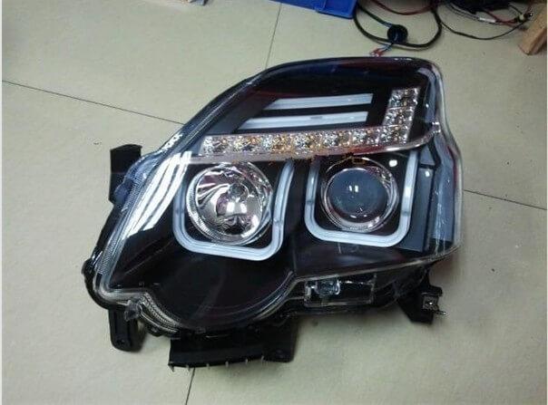 Тюнингованные фары Nissan X-Trail 1V 2012, фото 2