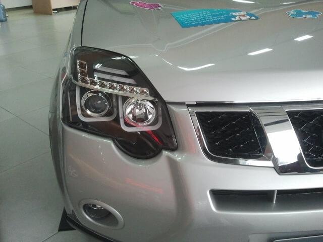 Тюнингованные фары Nissan X-Trail 1V 2012, фото 5