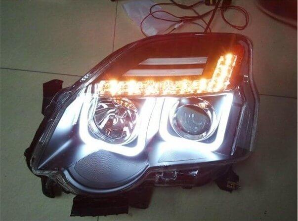 Тюнингованные фары Nissan X-Trail 1V 2012, фото 6