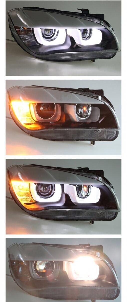 Тюнингованные фары BMW X1 2012, фото 2