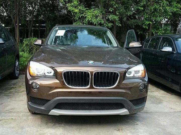 Тюнингованные фары BMW X1 2012, фото 3