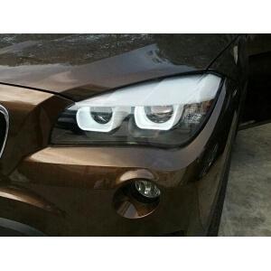 Тюнингованные фары BMW X1 2012