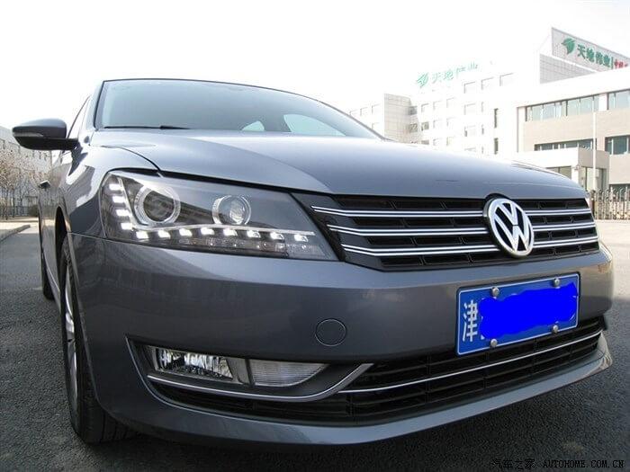 Тюнингованные фары Volkswagen Passat 2012
