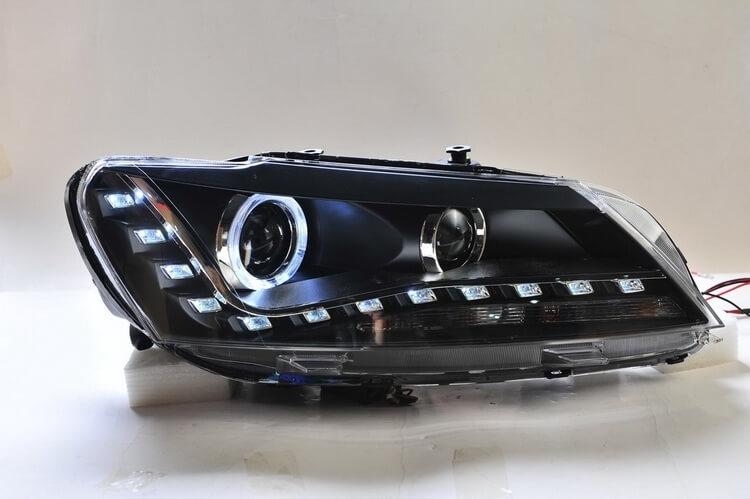 Тюнингованные фары Volkswagen Passat 2012, фото 2