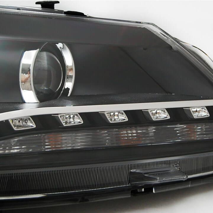 Тюнингованные фары Volkswagen Passat 2012, фото 4