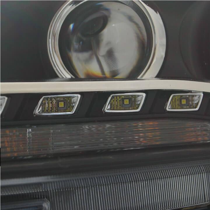 Тюнингованные фары Volkswagen Passat 2012, фото 8