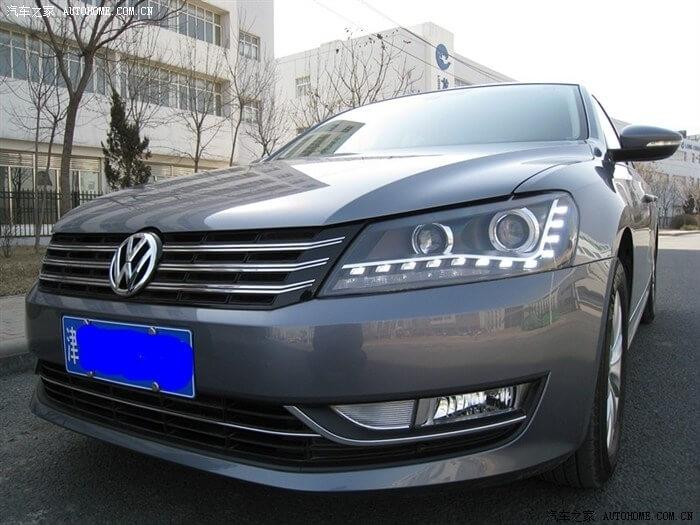 Тюнингованные фары Volkswagen Passat 2012, фото 9