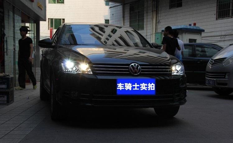 Тюнингованные фары Volkswagen Bora 2013, фото 2