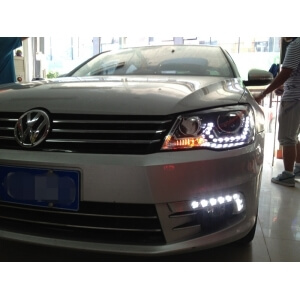 Тюнингованные фары Volkswagen Bora 2013