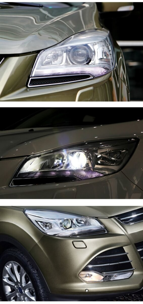 Тюнингованные фары Ford Kuga 2013, фото 3