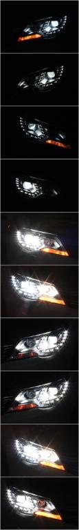 Тюнингованные фары Volkswagen Tiguan 2009- 2012