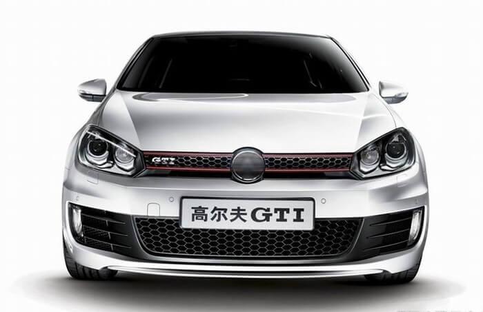 Тюнингованные фары Volkswagen Golf 6 GTI Style 2012, фото 2