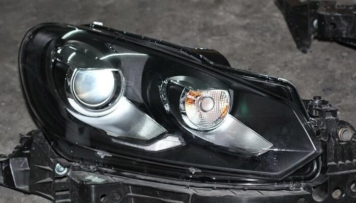 Тюнингованные фары Volkswagen Golf 6 GTI Style 2012, фото 3
