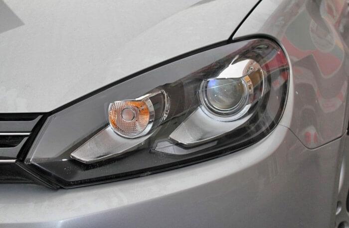Тюнингованные фары Volkswagen Golf 6 GTI Style 2012, фото 4