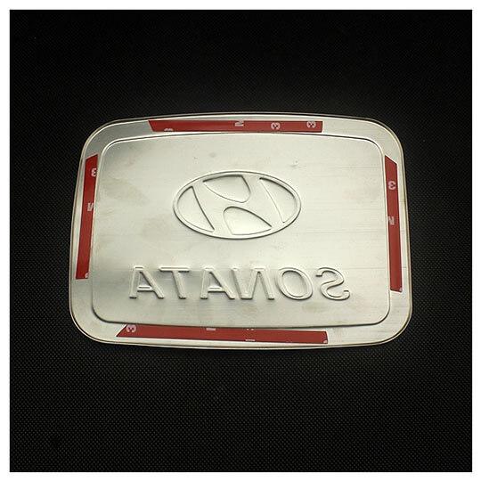 Накладка на крышку бензобака Hyundai 8th Gen Sonata, фото 2