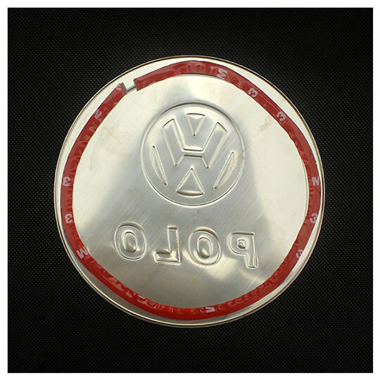 Накладка на крышку бензобака Volkswagen Polo 2009-2015, фото 2