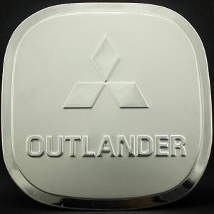 Накладка на крышку бензобака Mitsubishi Outlander 2012-2015