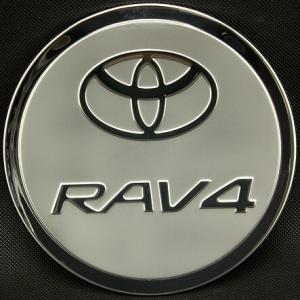 Накладка на крышку бензобака Toyota Rav4 2013-2017