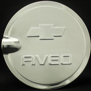Накладка на крышку бензобака Chevrolet Aveo 2012-2015