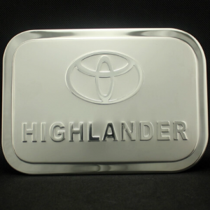 Накладка на крышку бензобака Toyota Highlander 2007-2014