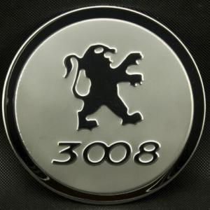 Накладка на крышку бензобака Peugeot 3008