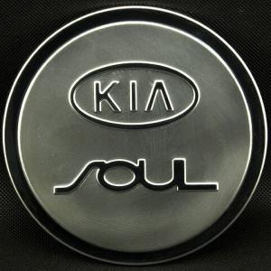 Накладка на крышку бензобака Kia Soul 2011-2014