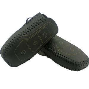 Кожаный чехол на ключи Ford Mondeo (KCC-33)