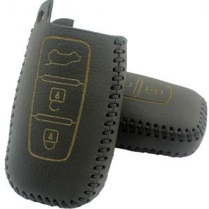 Кожаный чехол на ключи Hyundai Sonata (KCC-30)