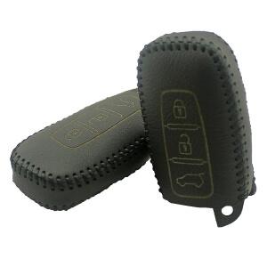 Кожаный чехол на ключи Kia Sportage (KCC-15)