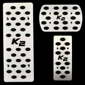 Накладки на педали Kia Rio (автомат ST-113)