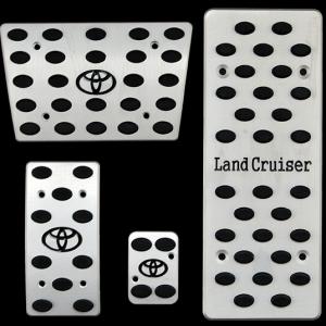 Накладки на педали Toyota Land Cruiser (автомат ST-050)