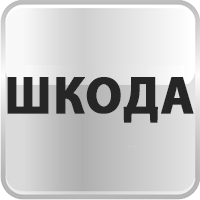 Накладки на пороги с подсветкой Skoda