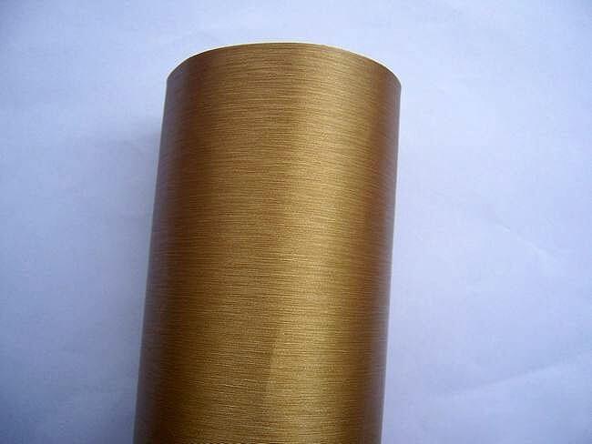Золотая шлифованная алюминиевая пленка (1х1,52см), фото 3