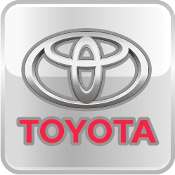 Накладки на пороги с подсветкой Toyota