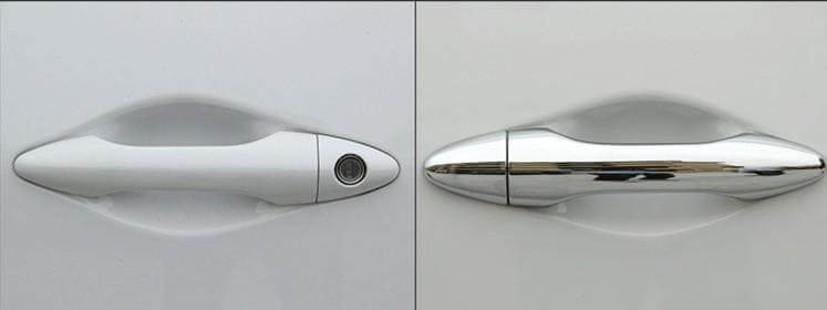 Хромированные накладки на ручки Hyundai Tucson 2011-2015, фото 4