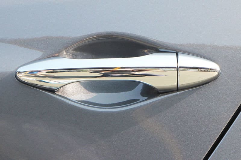 Хромированные накладки на ручки Hyundai Tucson 2011-2015, фото 18
