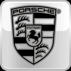 Накладки на пороги с подсветкой Porsche