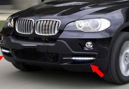 Дневные ходовые огни BMW X5 E70 (2006-2010)