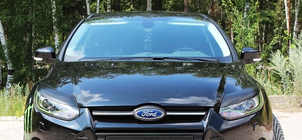 Передние реснички Ford Focus 3, фото 3