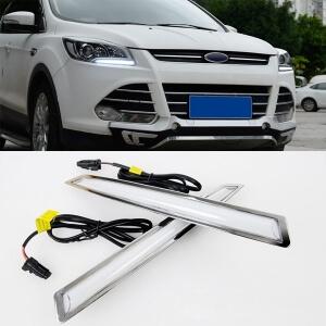 Дневные ходовые огни Ford Kuga 2 (2 вариант)