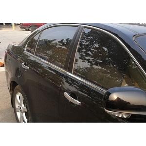 Хромированные молдинги на окна дверей Chevrolet Epica (6 предметов)